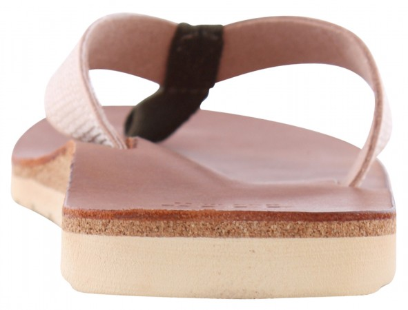 VOYAGE Slap dark brown/nude