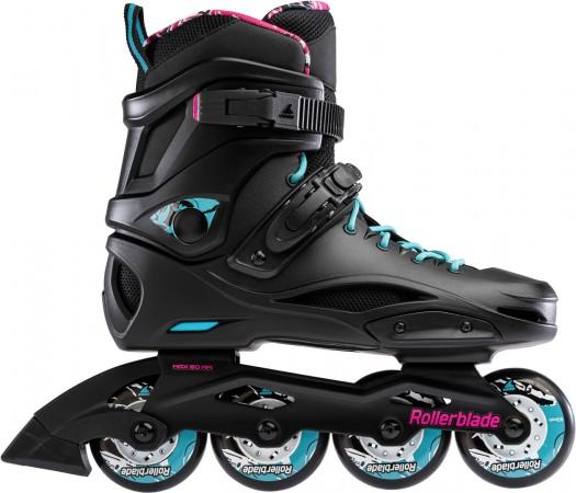 RB CRUISER W Inline Skate 2022 black/aqua