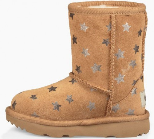 CLASSIC SHORT II STARS TODDLER Stiefel 2019 chestnut