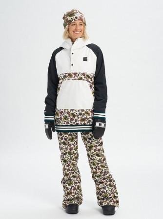 LOYLE Anorak Jacket 2020 true black/strout white/white floral