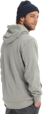 HORIZONTAL MOUNTAIN Zip Hoodie 2019 grey heather