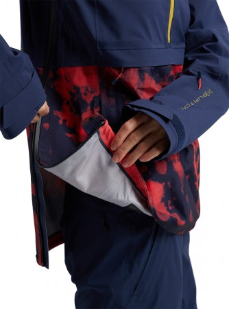 WOMEN AK GORE-TEX 3L KIMMY ANORAK Jacke 2021 dress blue / hibiscus pink cloud marble