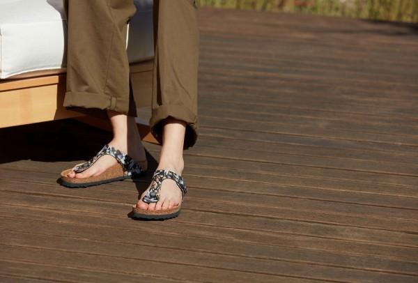 GIZEH SOFT Sandale 2021 floral fades black