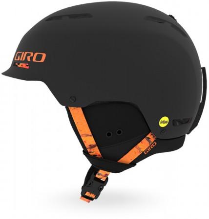 TRIG MIPS Helm 2020 matte black lava