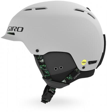 TRIG MIPS Helmet 2020 matte light grey/moss