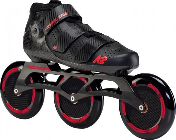 REDLINE 125 Inline Skate 2021 black/red