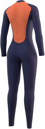 STAR WOMEN 5/3 BACK ZIP Full Suit 2022 black