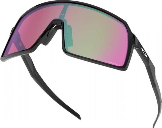SUTRO Sonnenbrille polished black/prizm snow jade