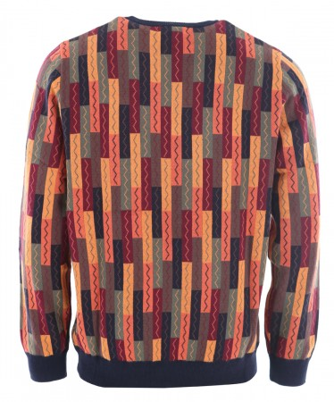 SHUFFLEMANIA Stricksweater 2022 burned