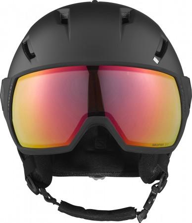 PIONEER VISOR PHOTOCHROMIC Helm 2021 black/red all weather