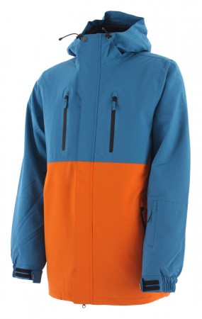 DANZIG Jacke 2020 faience blue/orange