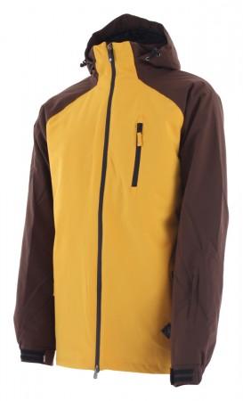 SLICE Jacke 2020 mustard/dark brown