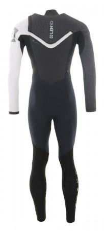 MAJESTIC 5/3 ZIP FREE Full Suit black/white