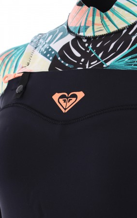 3/2 POP SURF CHEST ZIP Full Suit 2019 black