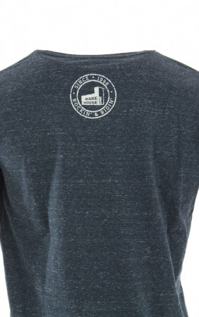 RANGE ORGANIC T-Shirt dark heather denim