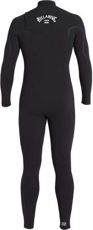 FURNANCE CARBON COMP 4/3 GBS CHEST ZIP Full Suit 2021 black