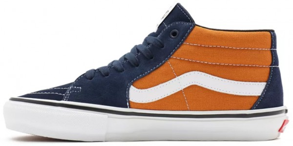 SKATE GROSSO MID Schuh 2022 navy/orange