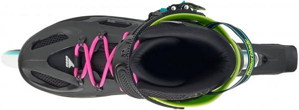 MAXXUM CLASSIC TEST Inline Skate black/acid green