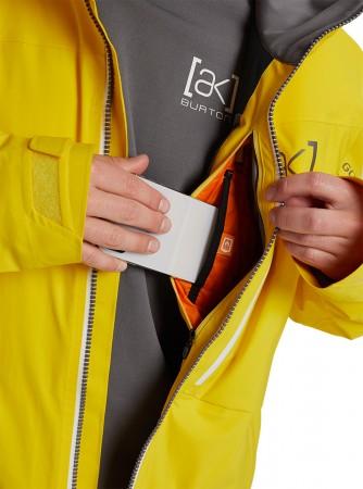 AK HELITACK STRETCH Jacke 2021 cyber yellow