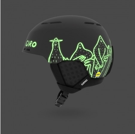 EMERGE MIPS Helm 2019 matte black lucas beaufort