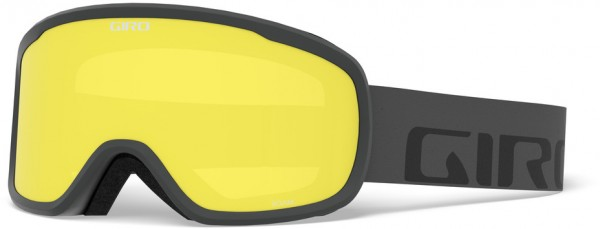 ROAM Schneebrille 2020 grey wordmark/grey cobalt + yellow