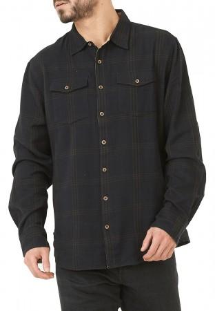 HILLSBORO Flannel Hemd 2020 flanel black