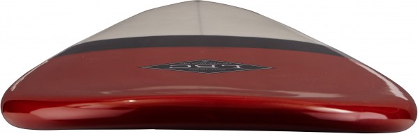 DROP Surfboard red/black/white