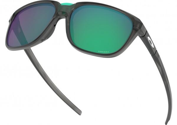 ANORAK Sonnenbrille matte grey smoke/prizm jade