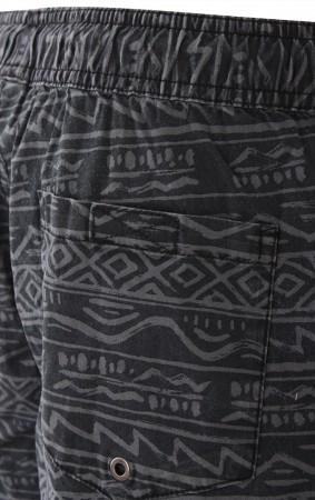 TAXER PRINT 17 Walkshort 2020 black tonal heritage