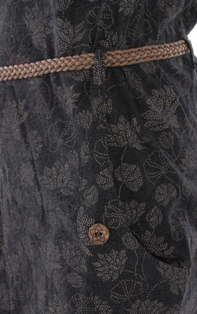 TANYA FLOWERS Kleid 2020 black