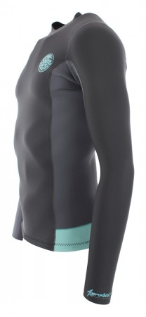 AGGROLITE 1.5MM LS Neoprene Jacket 2019 teal