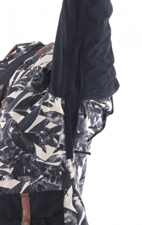 ANDIE Jacket 2020 hawaiian palm leaf