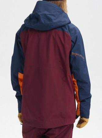 AK GORE CYCLIC Jacke 2020 port royal/dress blue/russet orange