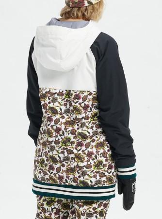 LOYLE Anorak Jacke 2020 true black/strout white/white floral