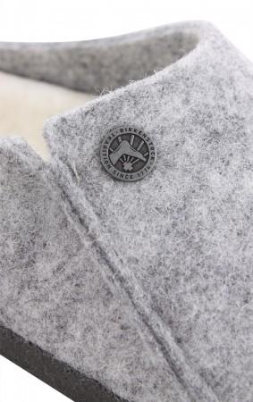 ZERMATT SHEARLING SLIM Slipper 2020 light grey