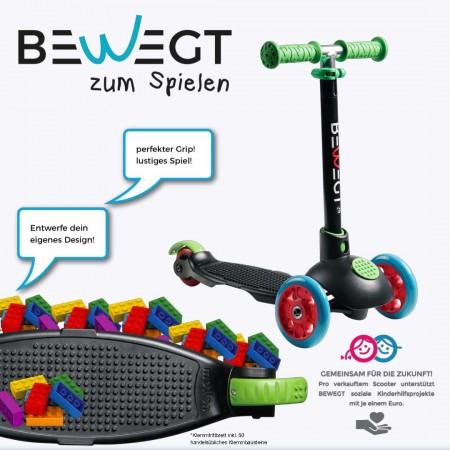 ZUM SPIELEN Scooter black/multicolored