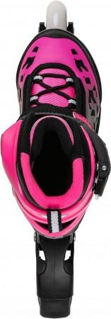 PHOENIX FLASH LED G Inline Skate 2021 black/pink