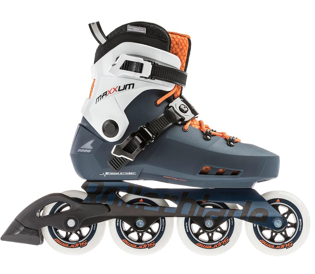 57d4deef607 MAXXUM EDGE 90 Inline Skate 2019 orange/saphire · ROLLERBLADE ROLLERBLADE