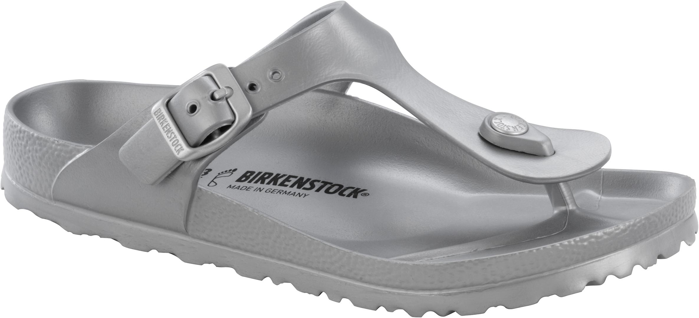 700a74c55445 GIZEH EVA Sandal 2019 metallic silver 38