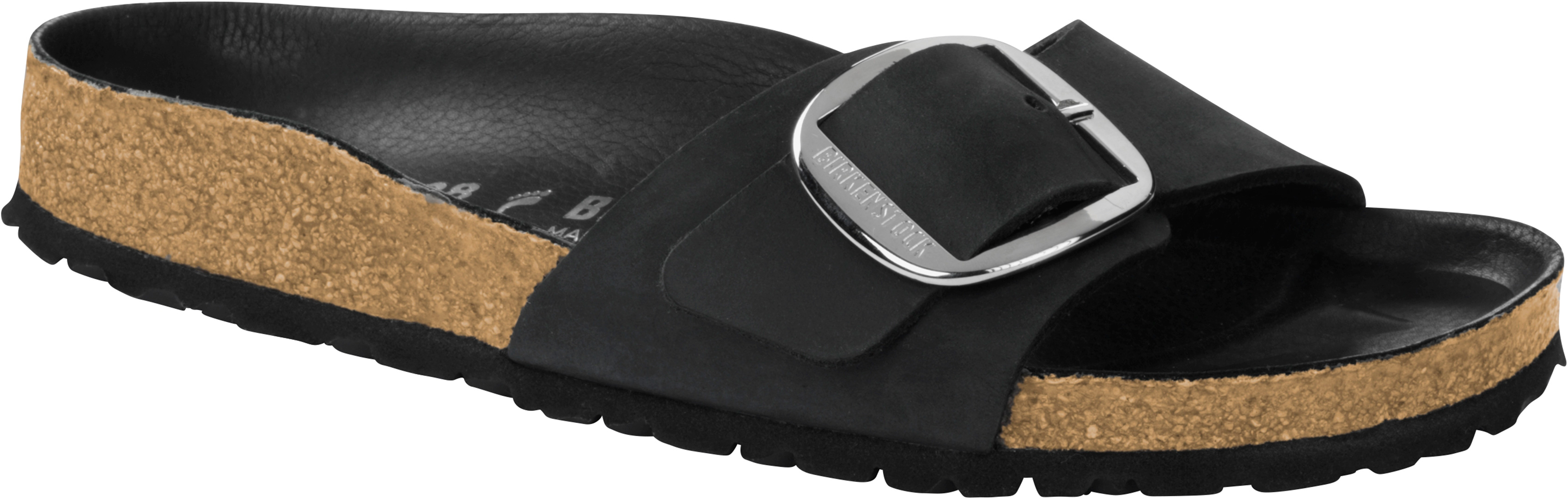 13de9ef1ac2 MADRID BIG BUCKLE SLIM Sandal 2019 black