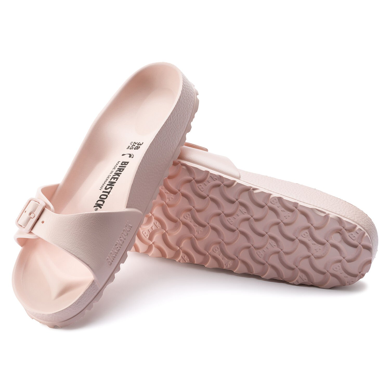 on sale 34a8d ce771 Details zu Sandalen Slaps Slides BIRKENSTOCK MADRID EVA SLIM Sandale 2019  rose Sandalen