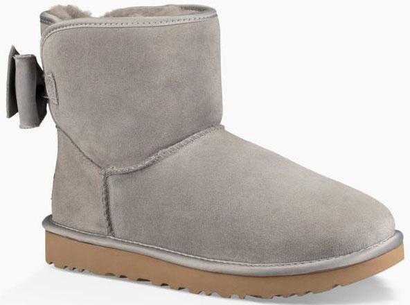 83855c25871d SATIN BOW MINI CLASSIC Boots 2019 elephant