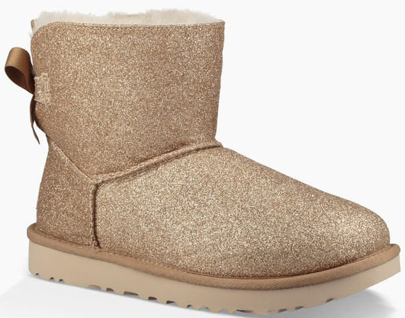 ad4377f5394 MINI BAILEY BOW SPARKLE Boots 2019 gold