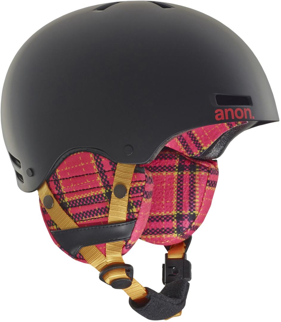 Snowboard Helme ANON GRETA Helm 2018 gray Helmet Snowboardhelm Skihelm
