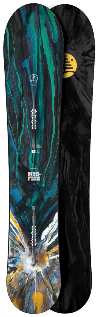 Modified fish 2nd snowboard 2016 warehouse one for Burton modified fish