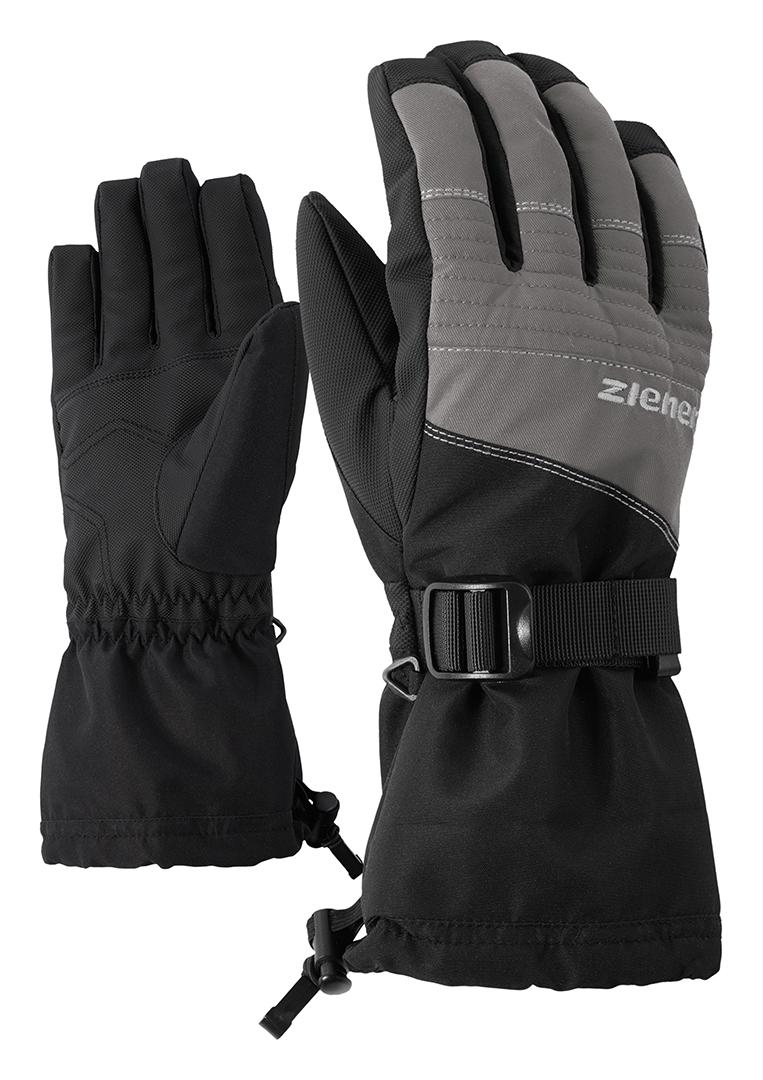 Snowboard Handschuhe Gloves ZIENER MIKKS AS JUNIOR Handschuh 2019 black hb