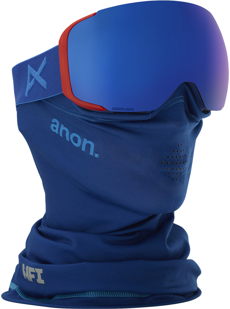 dfd967755648 Anon M2 MFI SPARE Goggle 2019 blue sonar infrared blue