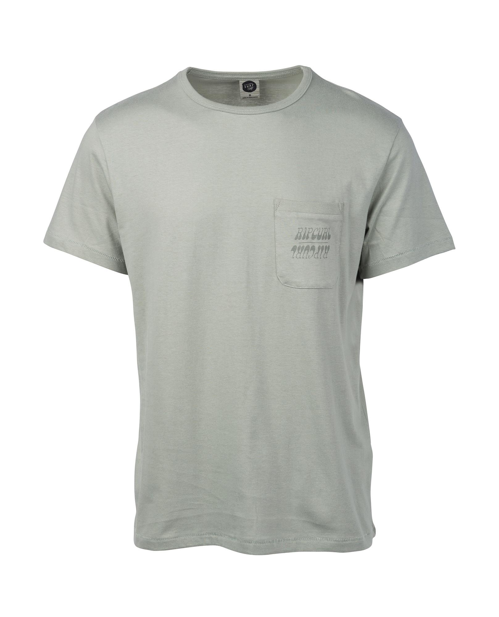 c17f06526 ORGANIC PLAIN POCKET T-Shirt 2019 light green | Warehouse One