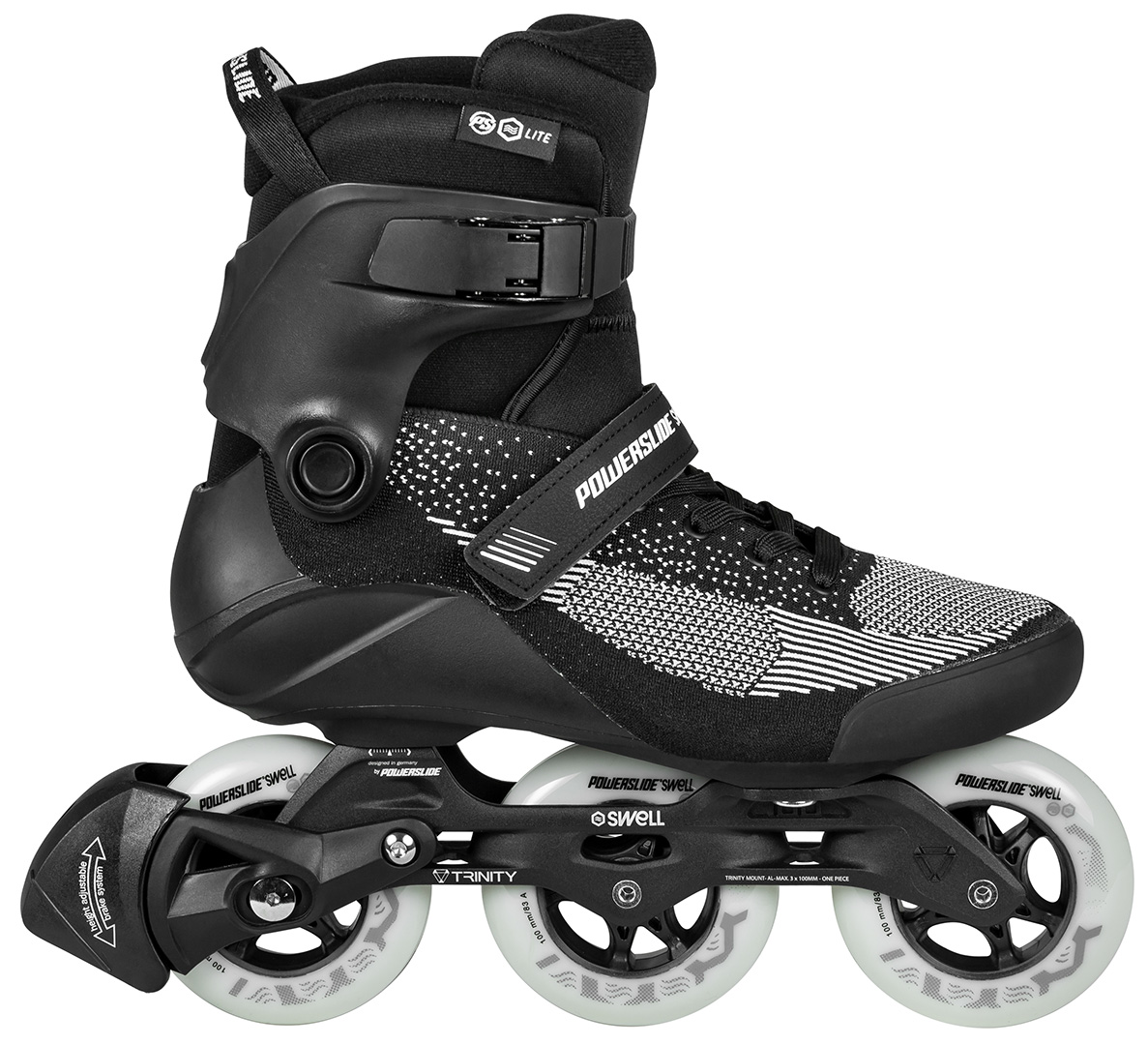 7e54f2820dd SWELL TRINITY LITE 100 Inline Skate 2019 black   Warehouse One