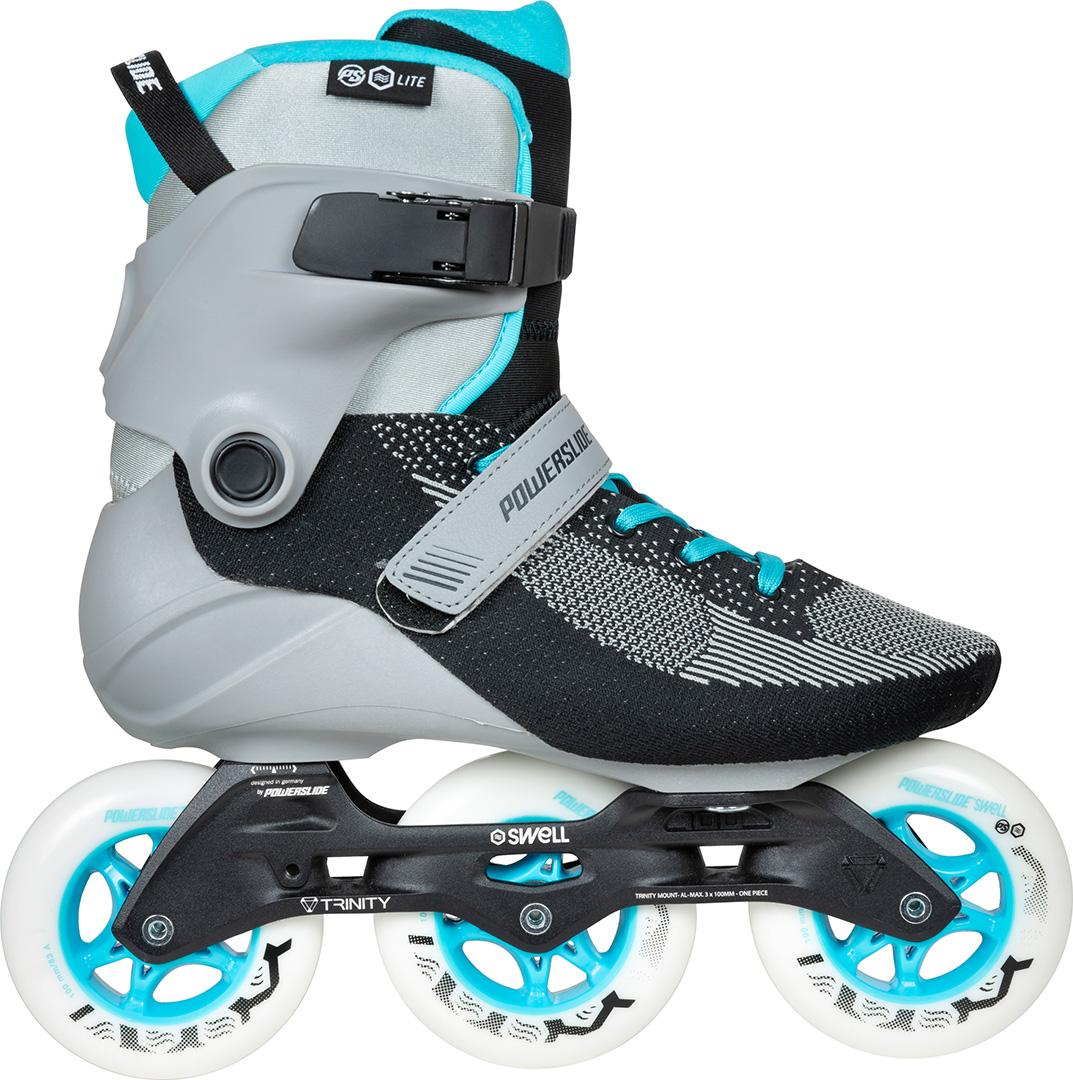 96da4f40c1a SWELL TRINITY LITE 100 Inline Skate 2019 blue/grey   Warehouse One